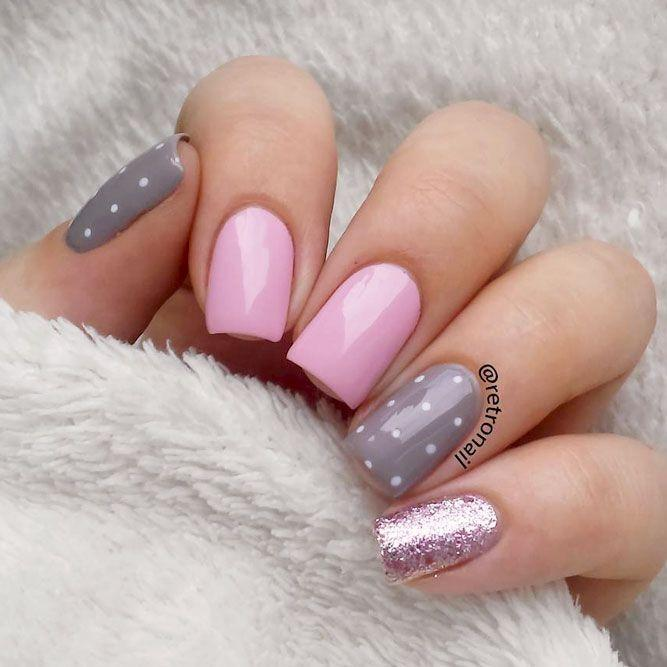 27 Simple Nail Designs For Short Nails To Do At Home