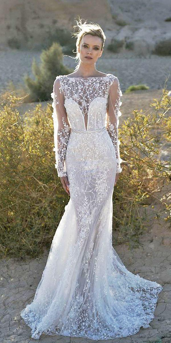 Wedding - 30 Unique Lace Wedding Dresses That Wow
