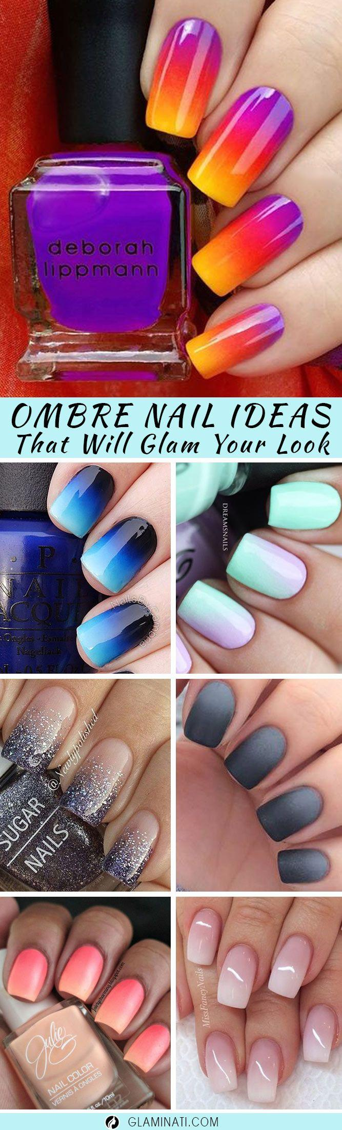 27 Ideas For Ombre Nails That Will Glam Your Look #2853387