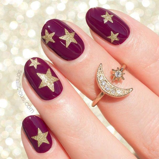 زفاف - 18 Cute Designs For Oval Nails To Rock Anywhere
