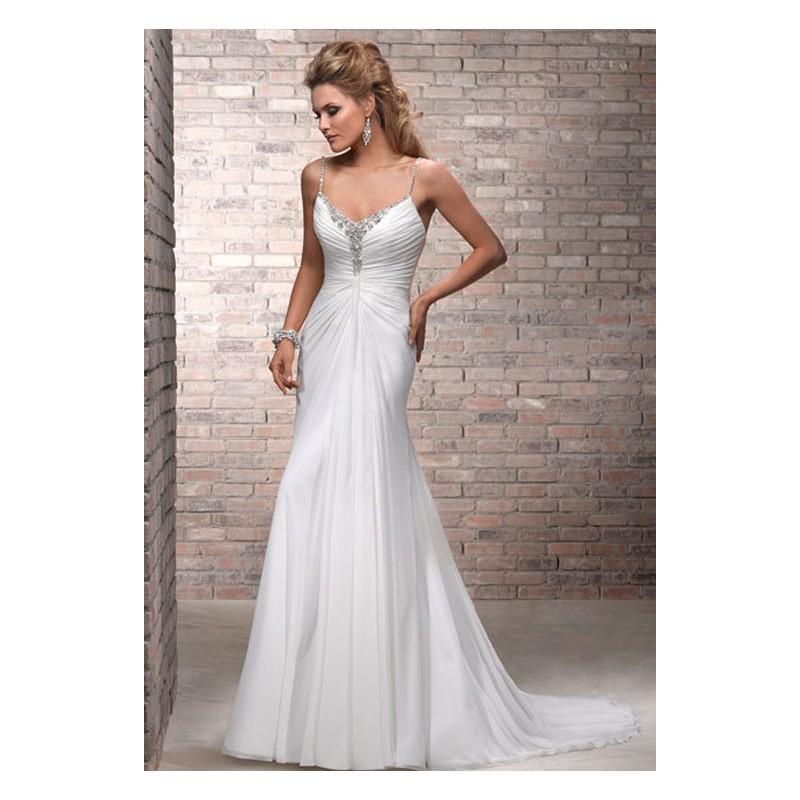 Свадьба - Vestido de novia de Maggie Sottero Modelo Aliyah - Tienda nupcial con estilo del cordón