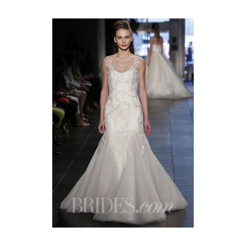 Wedding - Rivini - Spring 2014 - Evia Multi-Layered Mermaid Wedding Dress - Stunning Cheap Wedding Dresses