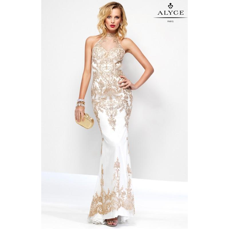 Diamond Whitegold Alyce Paris 6656 Customize Your Prom Dress
