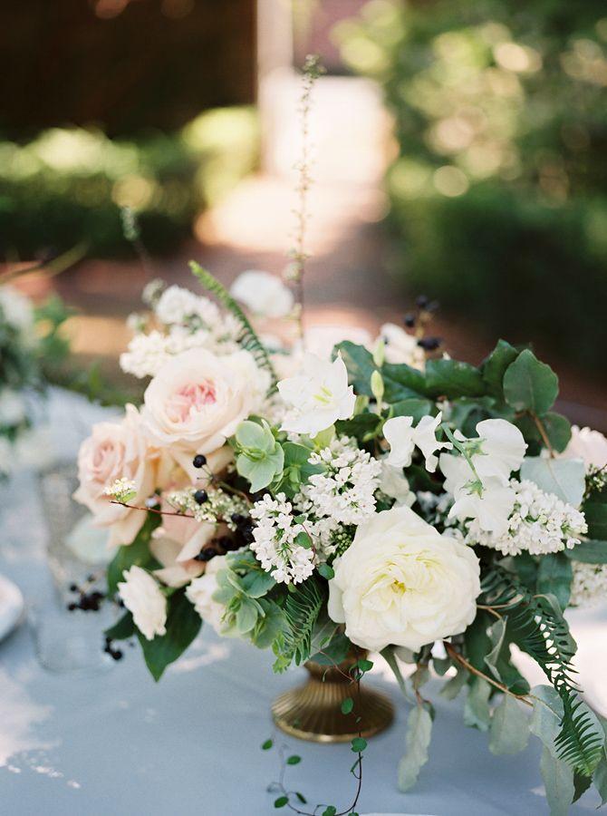 Свадьба - Joel And Jessica's Elegant Garden Wedding