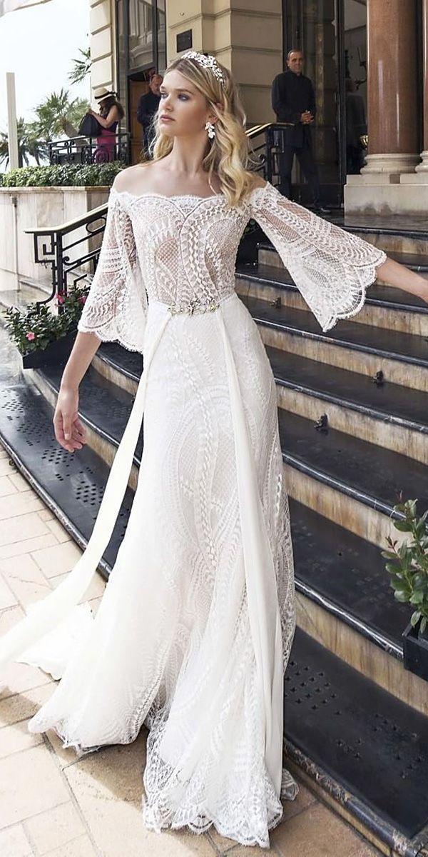 زفاف - 30 Unique Lace Wedding Dresses That Wow