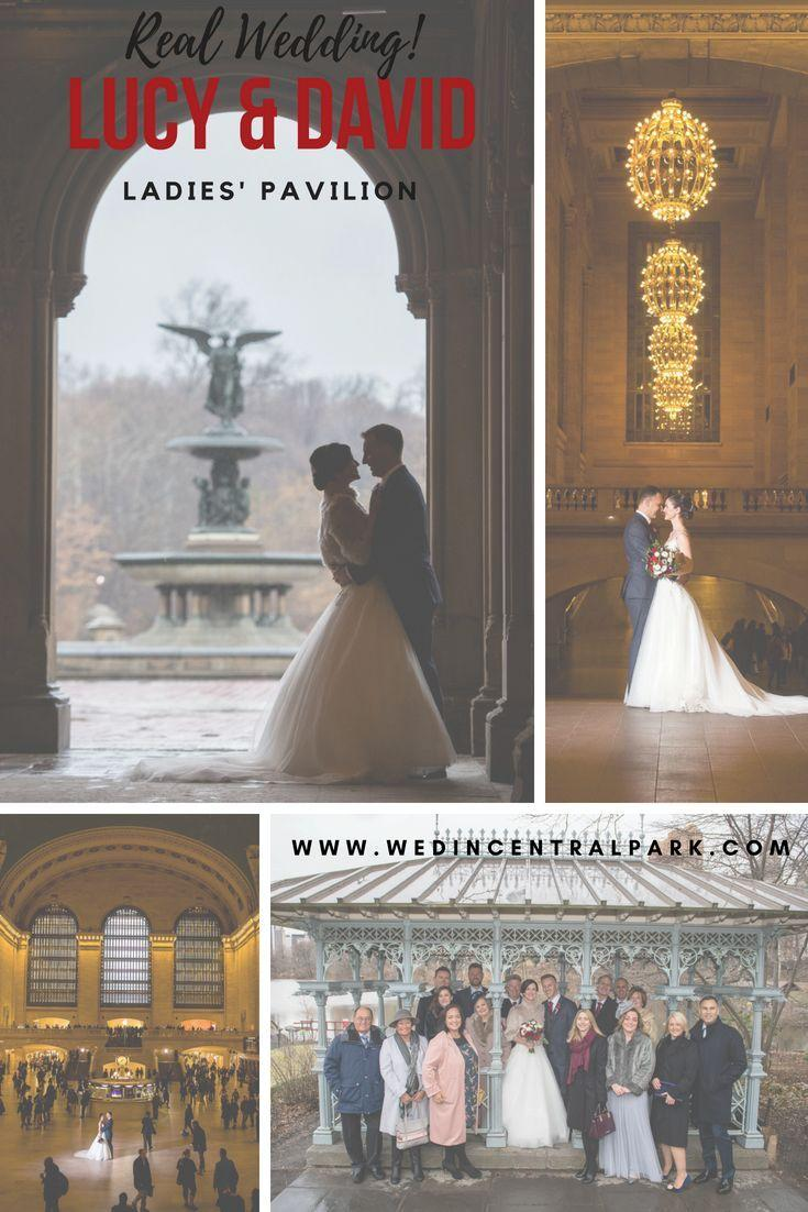 Свадьба - Lucy And David's Winter Wedding In The Ladies' Pavilion With Photos At Grand Central