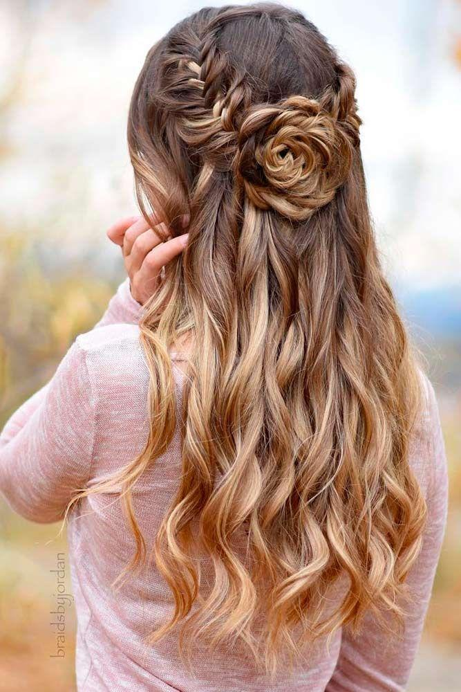 65 Stunning Prom Hairstyles For Long Hair For 2018 2854928 Weddbook