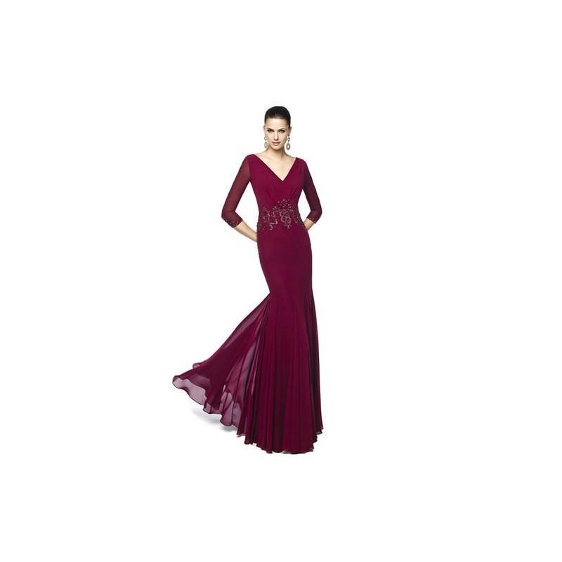Wedding - Vestido de fiesta de Pronovias Modelo NEREA-B - 2015 Vestido - Tienda nupcial con estilo del cordón