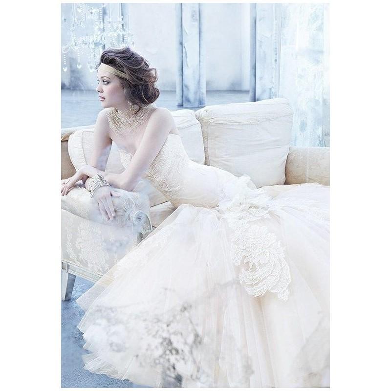 Свадьба - Lazaro 3363 Wedding Dress - The Knot - Formal Bridesmaid Dresses 2018