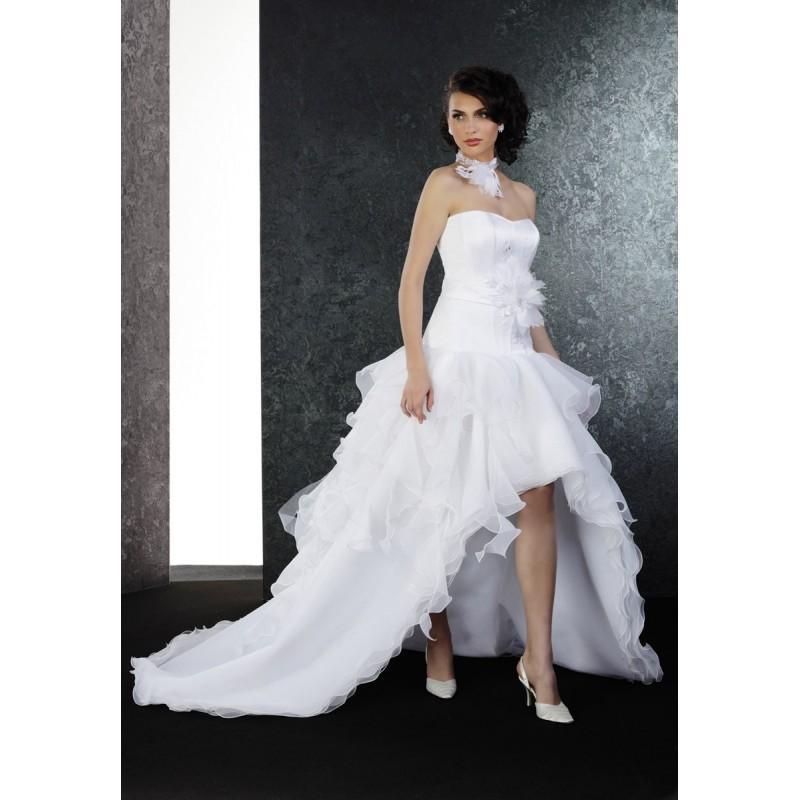 Wedding - Pia Benelli Prestige, Perle blanc - Superbes robes de mariée pas cher