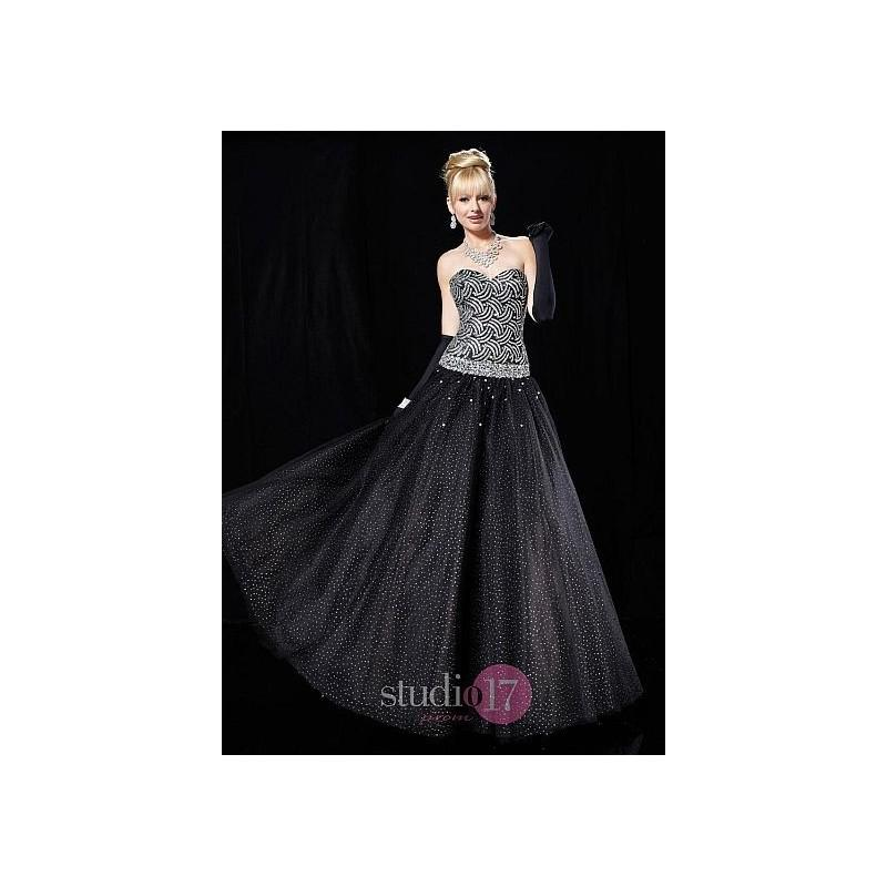 Wedding - Studio 17 Glitter Tulle and Lame Ball Gown 12325 - Brand Prom Dresses