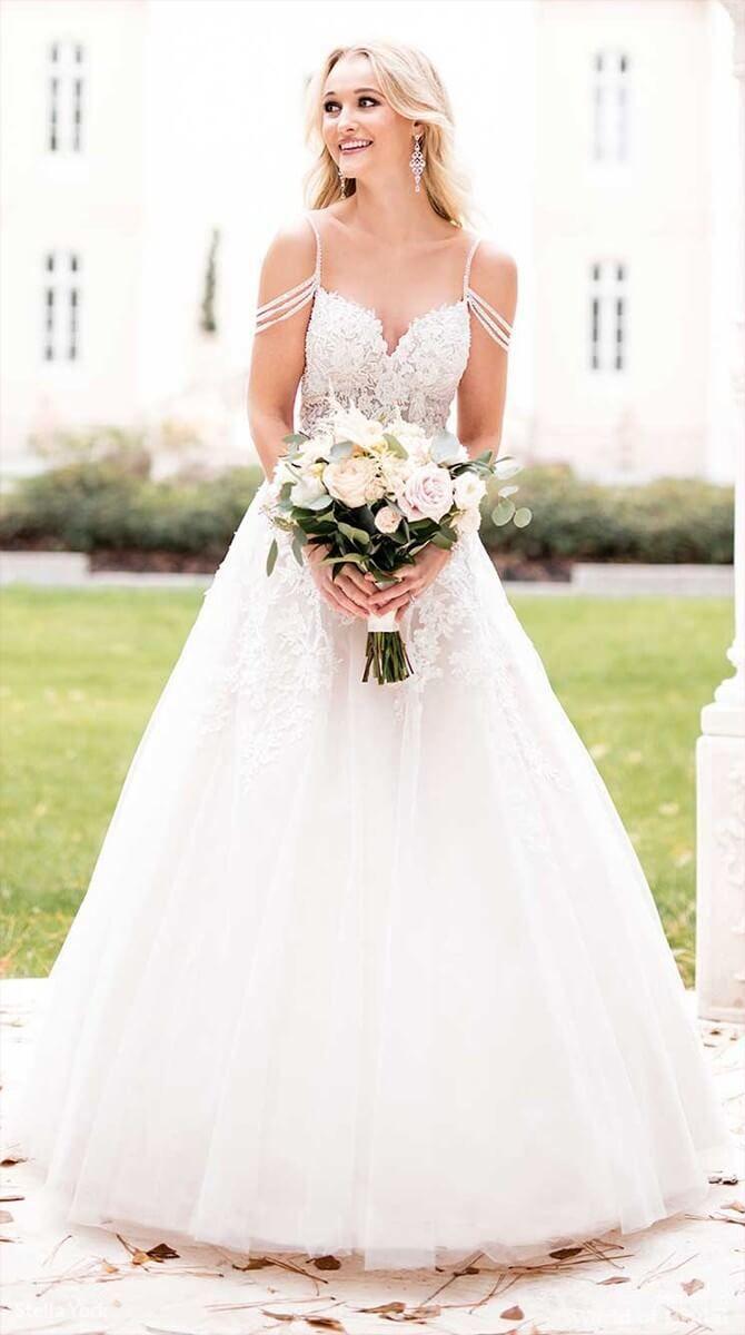 Wedding - Stella York Fall 2018 Wedding Dresses