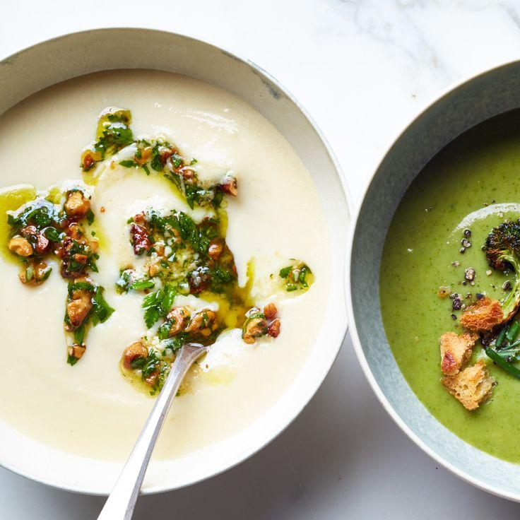 Mariage - Celery Root Bisque With Walnut-Parsley Gremolata