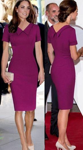 Wedding - Stylish Lady Women's Fashion Casual Short Sleeve Lapel Solid Bodycon Slim Shift Pencil Dress