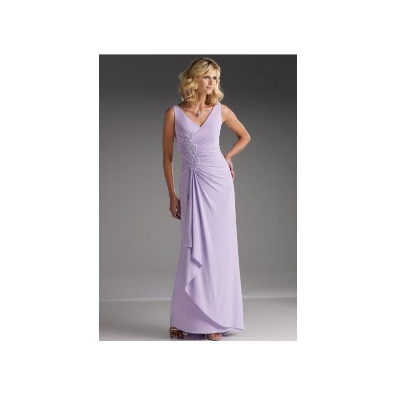 Wedding - Sleeveless Cameron Blake by Mon Cheri Evening Dress 110628 - Brand Prom Dresses