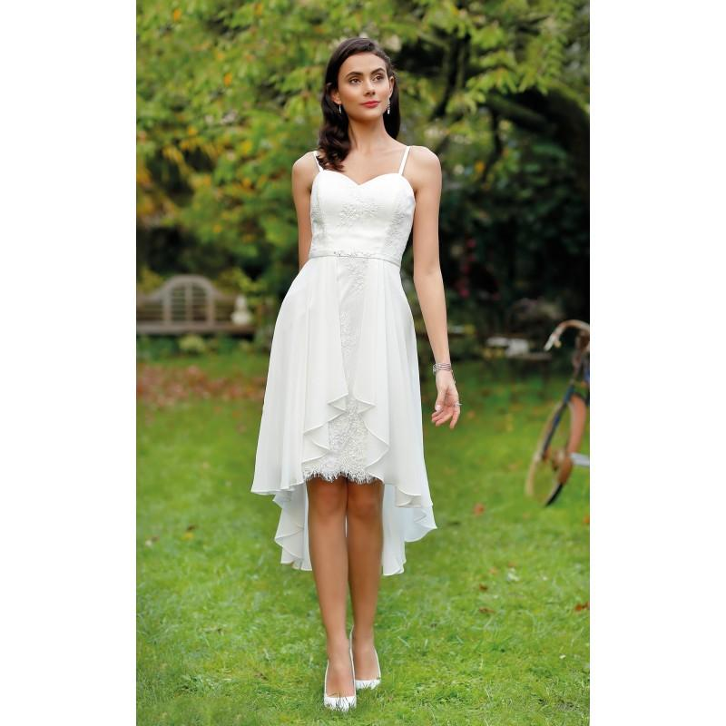 زفاف - Robes de cocktail Creatif Paris 2018 - CP18-76 - Robes de mariée France
