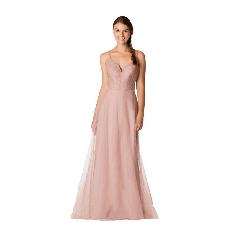 Hochzeit - Bari Jay EN-1732 English Net Bridesmaid Dress - Brand Prom Dresses