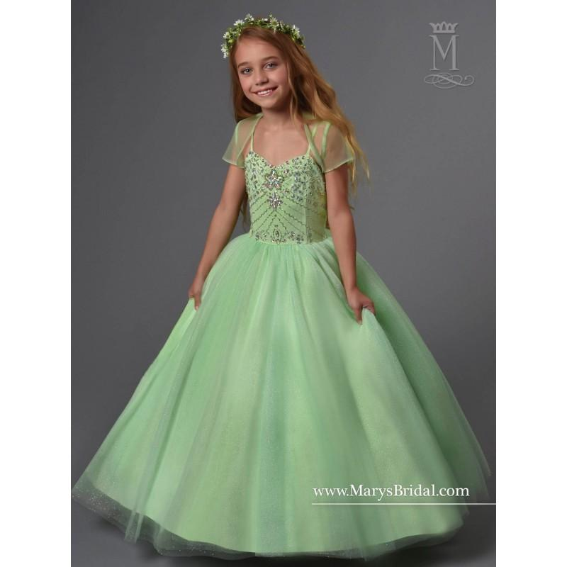 Wedding - Marys Bridal F567 Flower Girl Dress - 2018 New Wedding Dresses