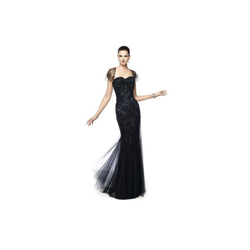 Свадьба - Vestido de fiesta de Pronovias Modelo NATASHA-B - 2015 Vestido - Tienda nupcial con estilo del cordón