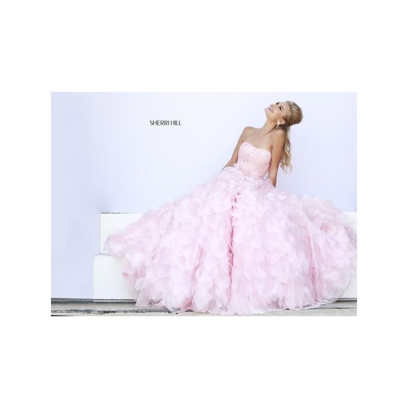 Wedding - Sherri Hill Prom Dresses Style 32132 -  Designer Wedding Dresses
