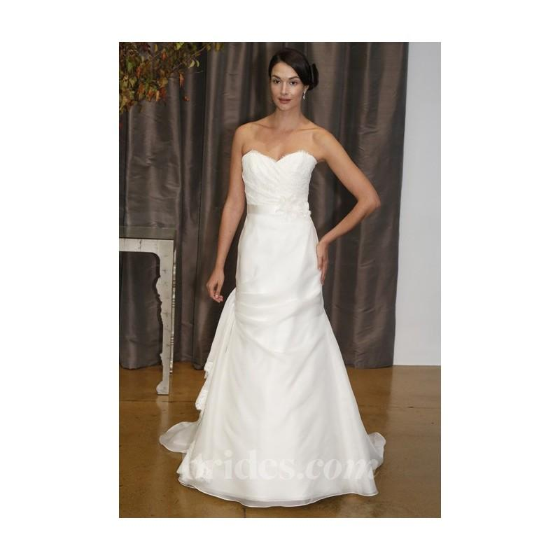 Wedding - Judd Waddell - Spring 2013 - Rosa Strapless Lace and Organza A-Line Wedding Dress - Stunning Cheap Wedding Dresses