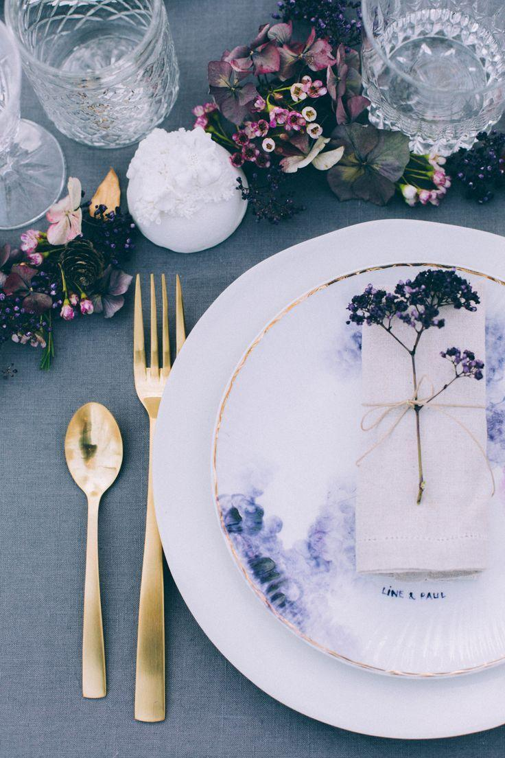 زفاف - Woodland Wedding Inspiration Shoot With Rustic Wooden Palette Decor