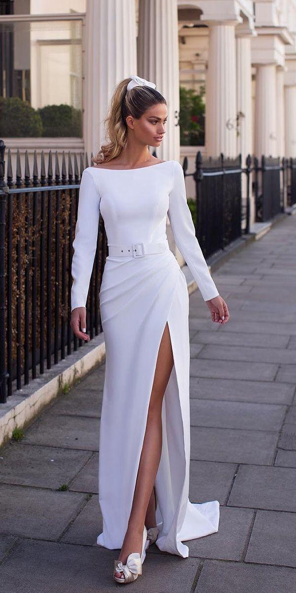 Mariage - 21 Modest Wedding Dresses With Sleeves