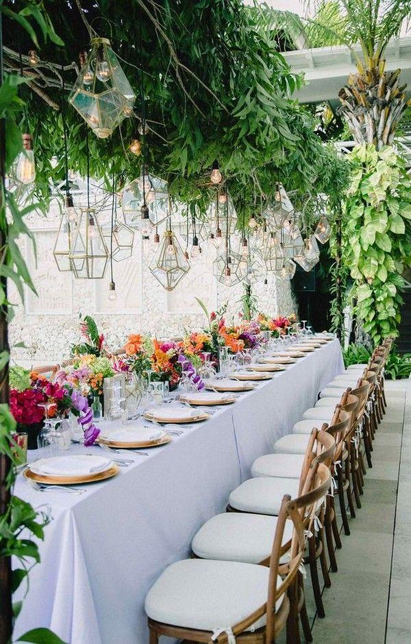 20 Amazing Hanging Greenery Floral Wedding Decorations For Your