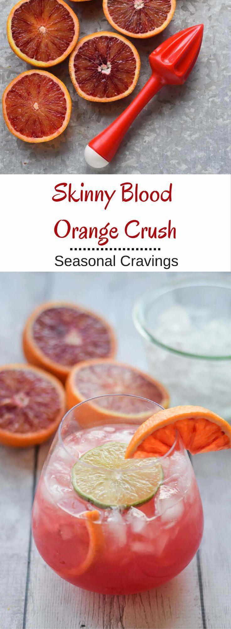 Wedding - Skinny Blood Orange Crush
