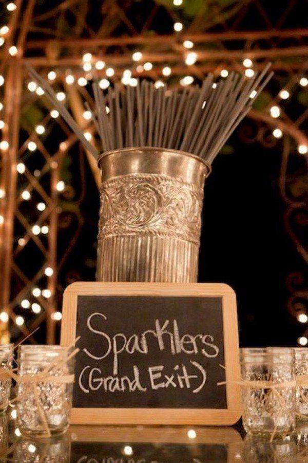 Wedding - 20 Sparklers Send Off Wedding Ideas For 2018 - Page 2 Of 2