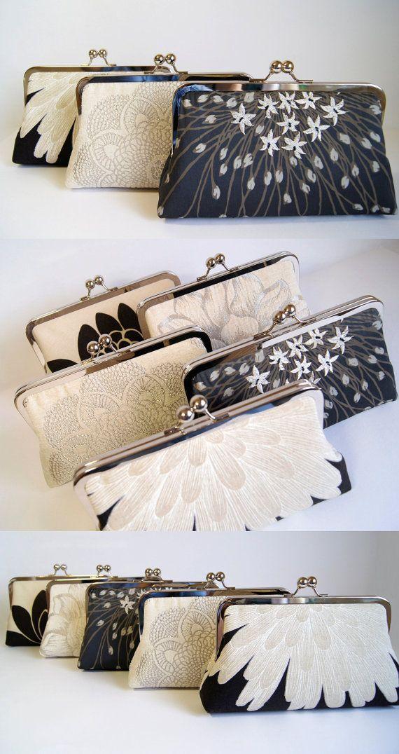 Hochzeit - Brocade Velvet Crochet Doily Clutch, Wedding Bag, Bridal Clutch, Wedding Purse, Gift Ideas, Perfect Vintage Look
