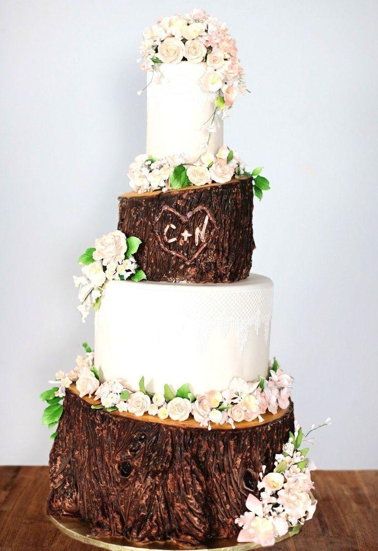 زفاف - Canada's Prettiest Wedding Cakes For 2015