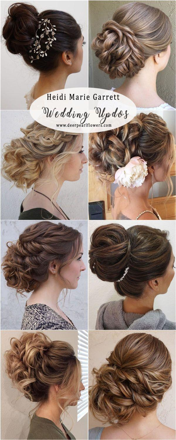 Mariage - 20 Best Wedding Updo Hairstyles To Copy In 2018
