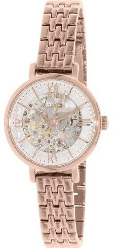Mariage - Fossil Women's Jacqueline ME3072 Rose Gold Stainless-Steel Automatic Watch