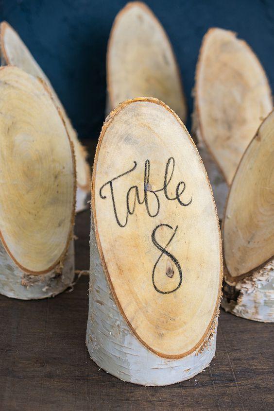 زفاف - 51 Unique Table Number Ideas For Wedding Receptions (and DIYs)