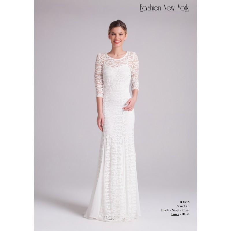 Mariage - Robes de cocktail Fashion New York - D_1815 - Robes de mariée France