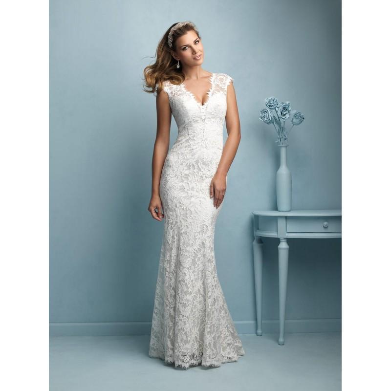 Wedding - Allure Bridals 9206 Allure Bridal - Rich Your Wedding Day