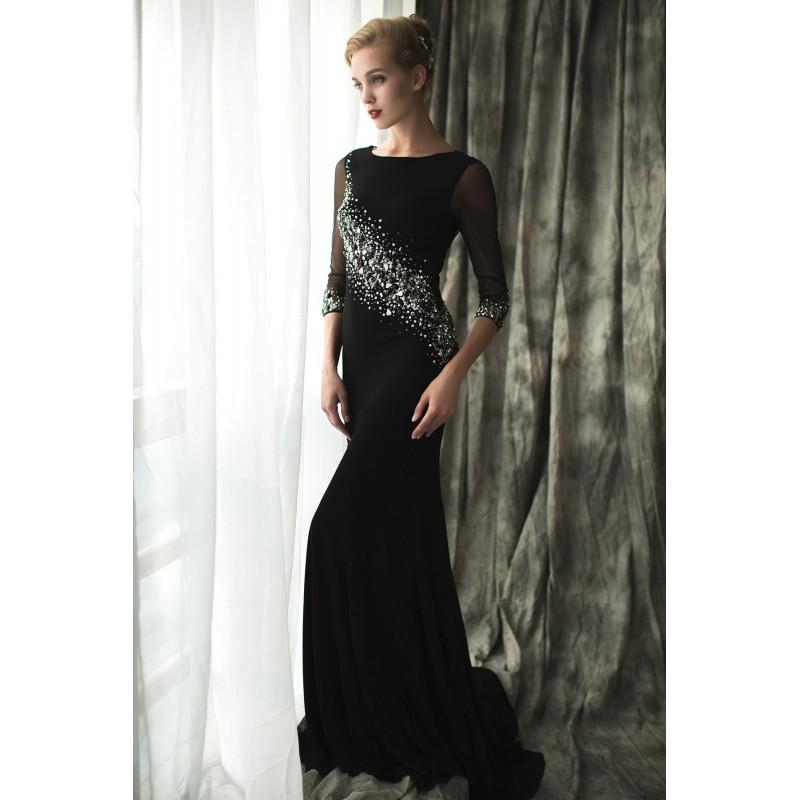 Wedding - Valentina by June Peony - Floor High Body-skimming  Fit and Flare Occasions - Bridesmaid Dress Online Shop