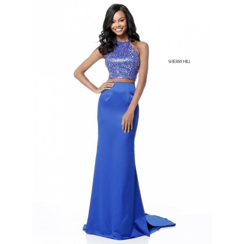 875d04301a4 Sherri Hill 51647 Fitted 2 Piece Formal Gown - 2018 New Wedding Dresses