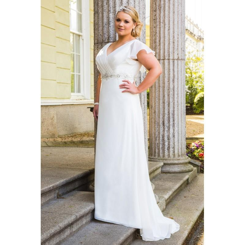 Plus-Size Dresses Style BB16306 By BB By Special Day - Ivory ...
