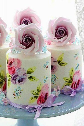 Wedding - 33 Exquisite Mini Wedding Cakes For Your Inspiration