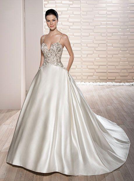 Wedding - Demetrios 2017 Bridal Collection #weddings #wedding #bridalcollection #weddingdress #bridal #bride #soontobebride #affiliatelink