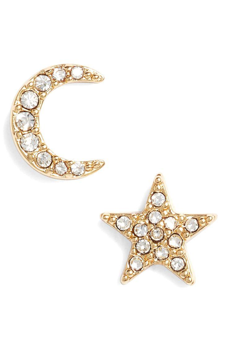 2175d844d Nordstrom #nsale Kate Spade New York Celestial Star And Moon Stud Earrings
