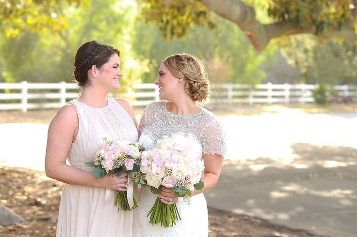 Wedding - Camarillo Ranch House Stunning Classic  Bride Looked Beautiful On Her Special Wedding Day. Hairstyling And Airbrush Makeup For This Beauty Done By …