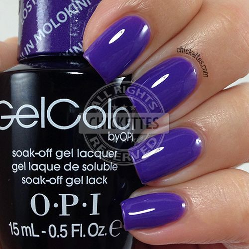 Свадьба - OPI GelColor Hawaii Collection - Lost My Bikini In Molokini - Chickettes.com