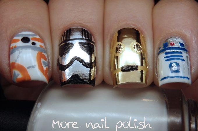 Свадьба - Star Wars Nails (More Nail Polish)