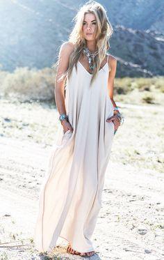 Свадьба - Boho Maxi Beach Dress