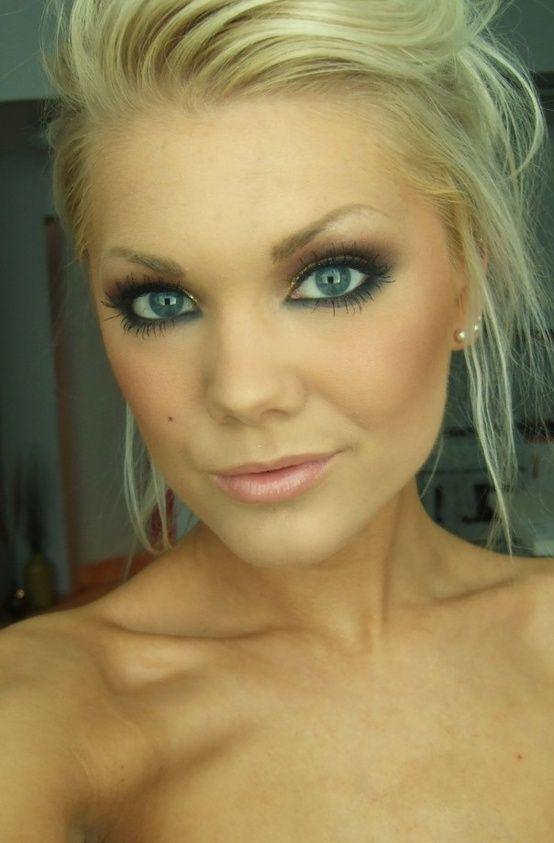 Свадьба - Bronze For Blue Eyes