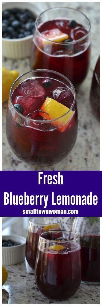 Hochzeit - Fresh Blueberry Lemonade