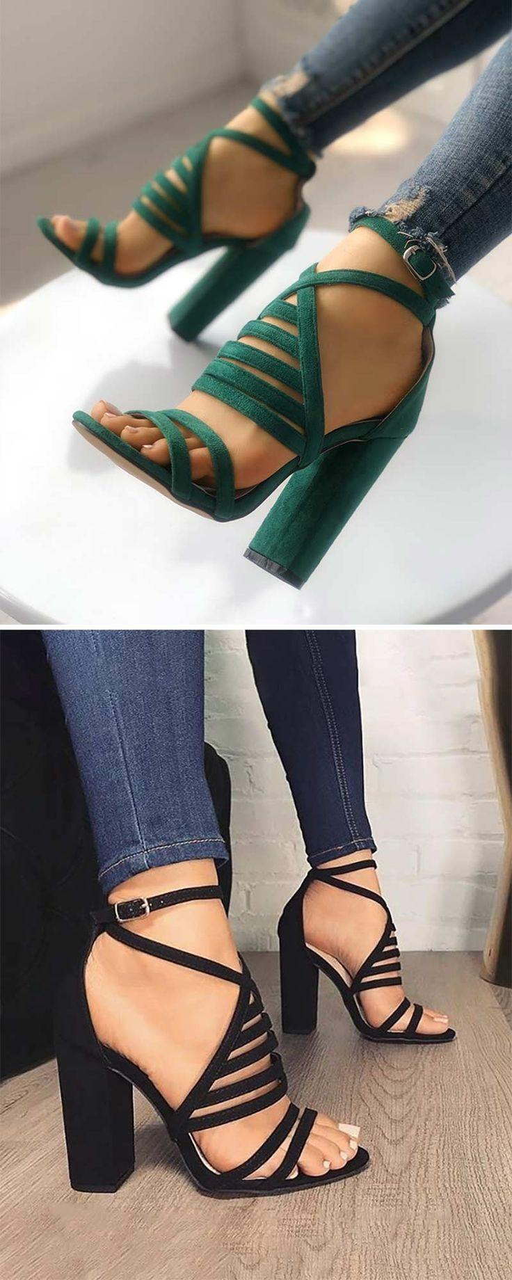 Свадьба - Strappy Open Toe Stiletto Sandals
